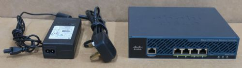 Cisco AIR-CT2504-15-K9 2500 Series 4-Port Wireless Controller With 15 AP License